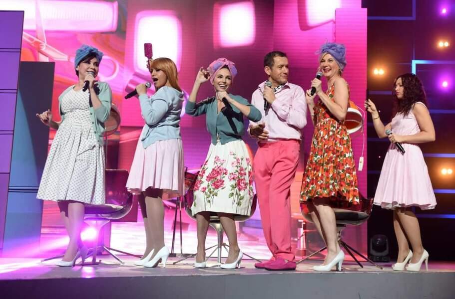 Flashback dans les années 50 ! Bravo Dany Boon pour le pantalon rose !