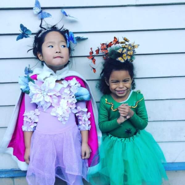 Et les filles de Katherine Heigl sont prêtes pour Halloween.
