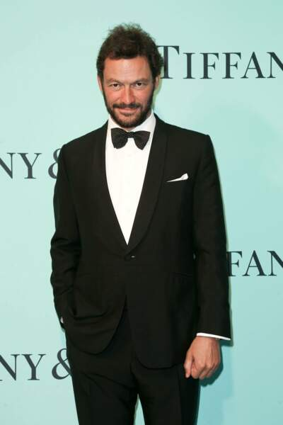Un des rares hommes présents à la soirée, l'acteur Dominic West. Sobre mais classe !