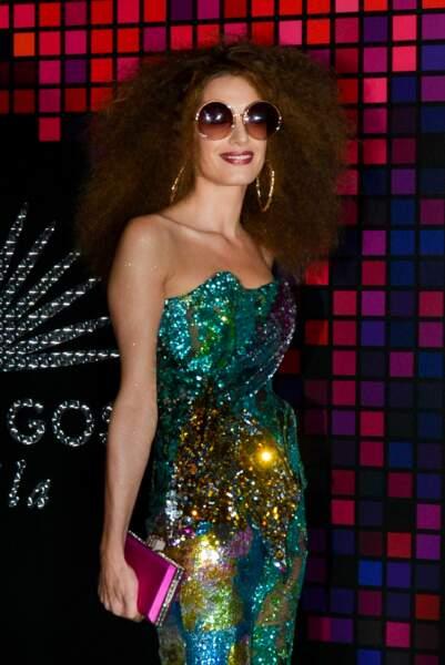 Sublime en tenue disco, Amal Clooney avait laissé les jumeaux avec papa George