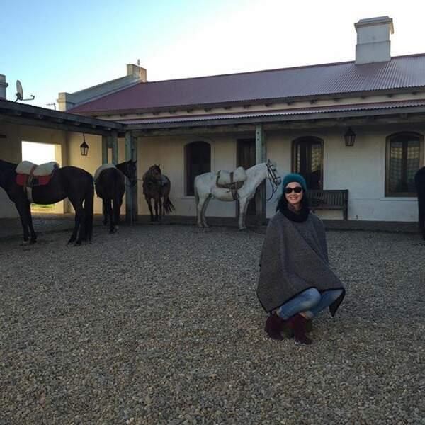 Katy Perry est on ne sait pas trop où...