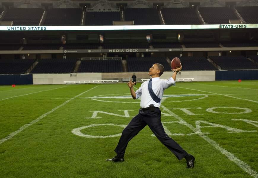 On vous a déjà dit que Barack Obama aimait le sport ?