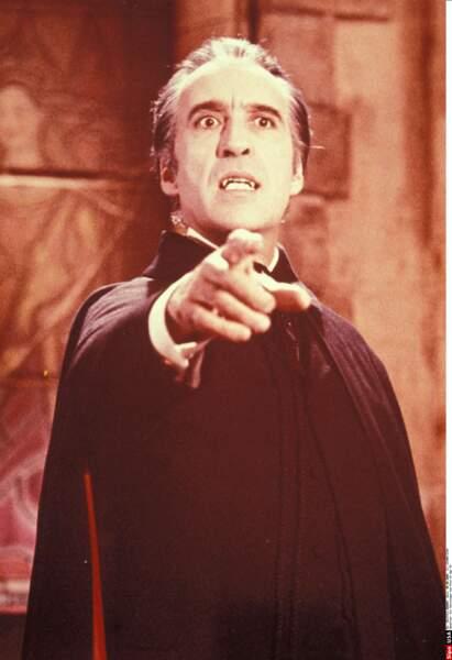 Christopher Lee, alias Dracula et le redoutable Saroumane du Seigneur des anneaux, est mort à 93 ans.