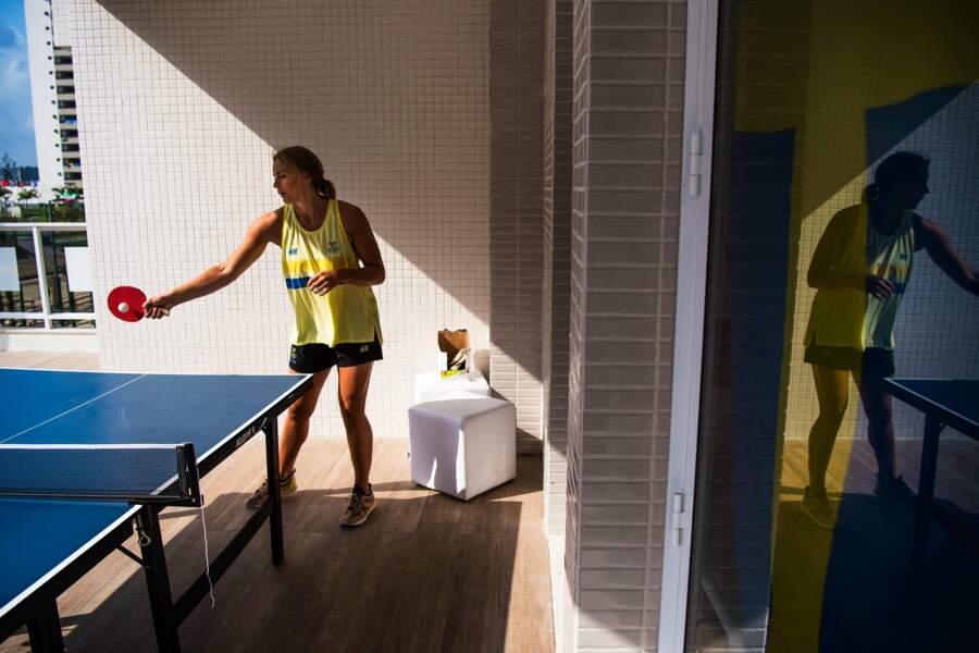 La handballeuse suédoise Isabelle Gullden a déjà trouvé une reconversion