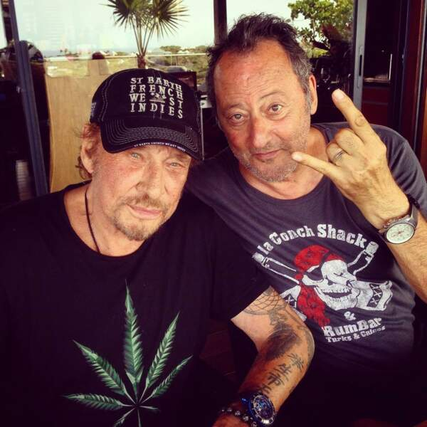 Jean Reno et Johnny en mode rebelle