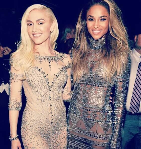 Idem pour Gwen Stefani et Ciara !