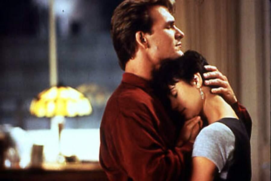 Avec un fantôme : Patrick Swayze et Demi Moore dans Ghost (1990)