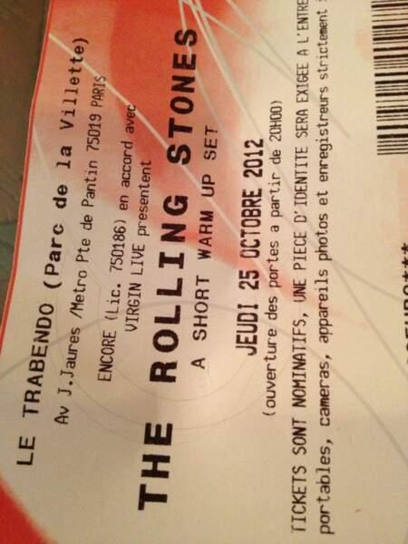 Le concert archi confidentiel des Rolling Stones à Paris ? Nagui y était, veinard !