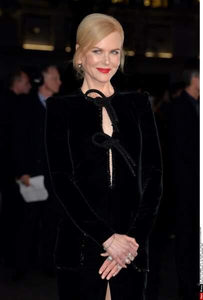 Hier soir à Londres, Nicole Kidman est venue présenter son prochain film intitulé Lion