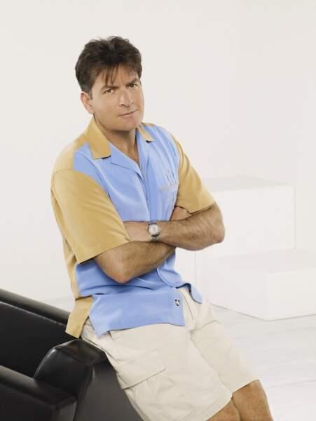 16. Charlie Sheen, Anger Management : 10 millions de dollars par an