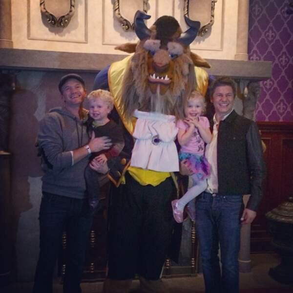 Les experts en la matière, ce sont eux : Neil Patrick Harris, son compagnon et leurs 2 enfants !