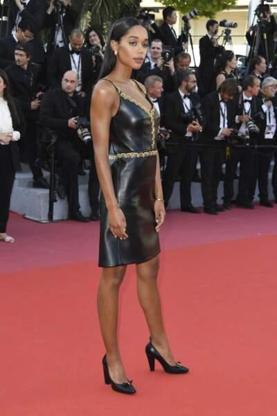 Laura Harrier à la côture du Festival de Cannes