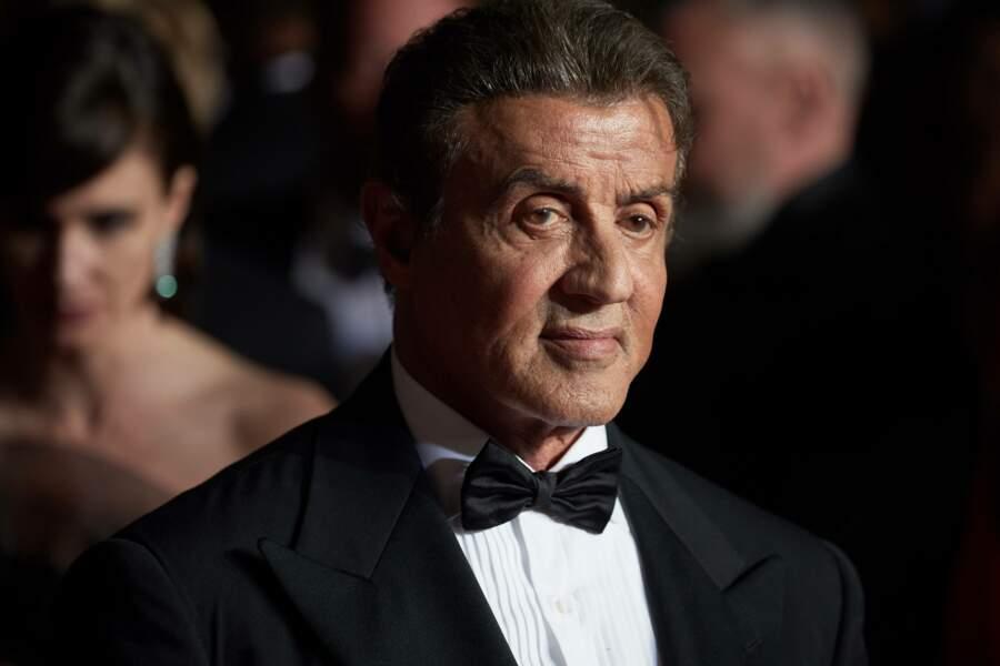 Sylvester Stallone, lors de la projection de Rambo lui rendant hommage au Festival de Cannes 2019