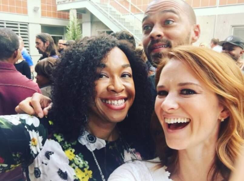 Les acteurs ont multiplié les selfies