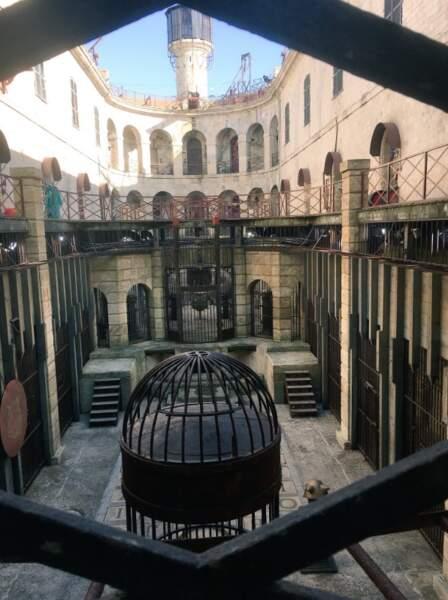 Deuxième jour de tournage sur le Fort pour Willy Rovelli qui partage ce cliché