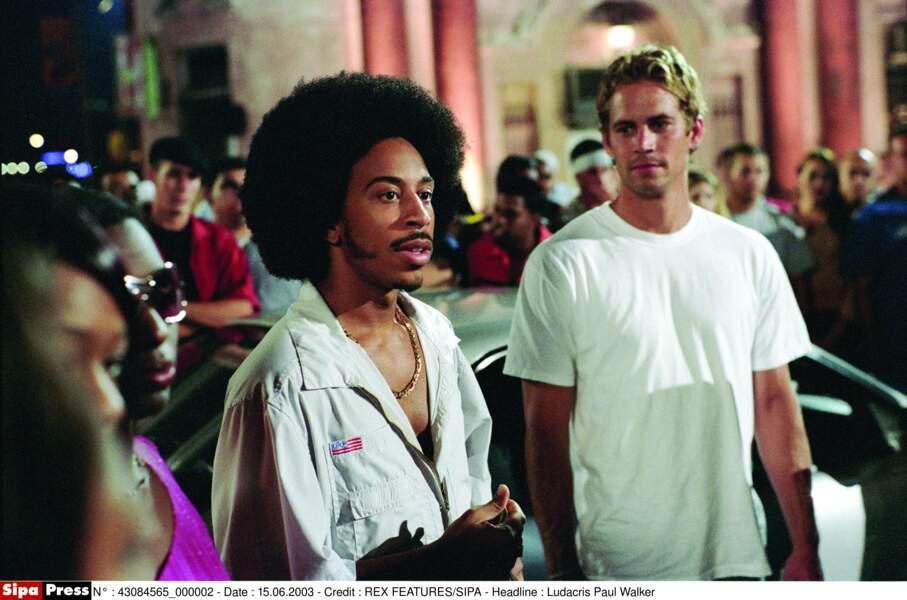 Ludacris (alias Tej Parker) et sa coupe afro ont marqué 2 Fast & Furious