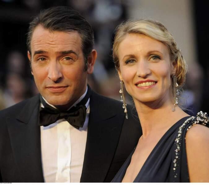 """""""Un gars, une fille"""", Alexandra Lamy et Jean Dujardin ont longtemps été le couple glamour 100% frenchie !"""