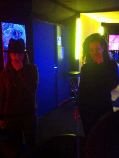 Tal et Amel Bent en répétitions à Strasbourg pour les Enfoirés 2014