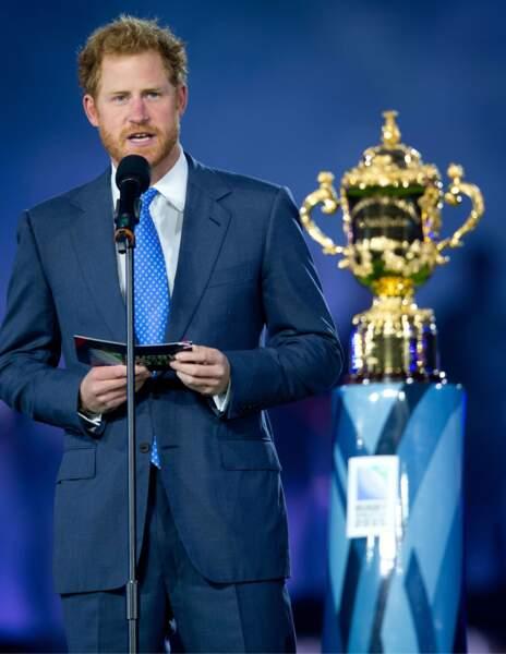 """Septembre : """"Je déclare ouverte la Coupe du monde de rugby"""". Merci Harry !"""