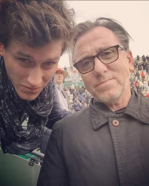 L'acteur Tim Roth et le choriste Jean-Baptiste Maunier