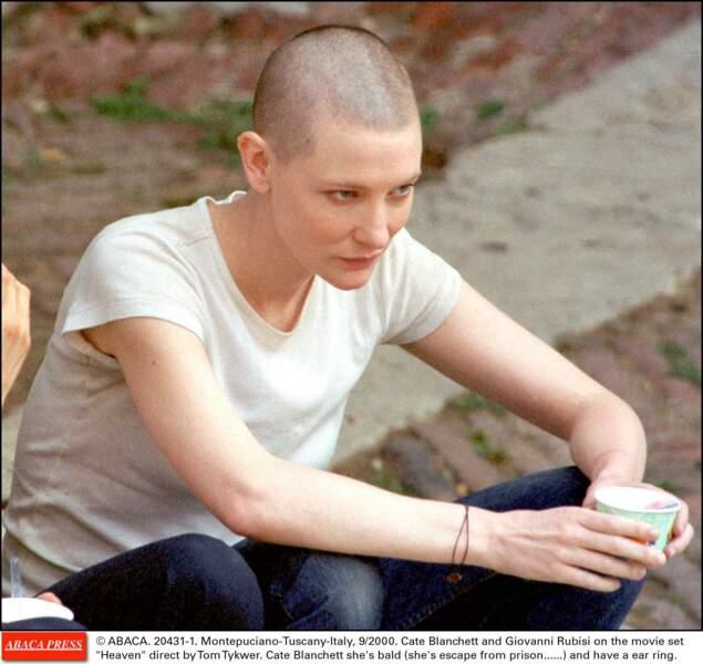 Cate Blanchett, boule à zéro pour les besoins du film Heaven
