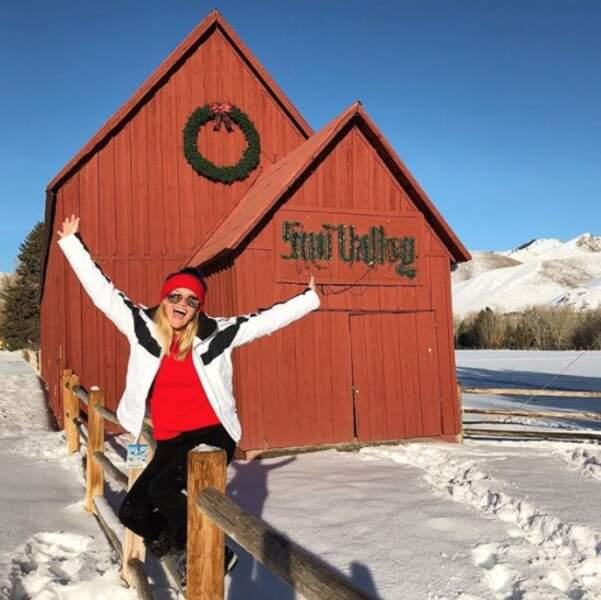 Vous voulez retrouver la joie de vivre ? L'astuce de Reese Witherspoon : aller à la montagne.