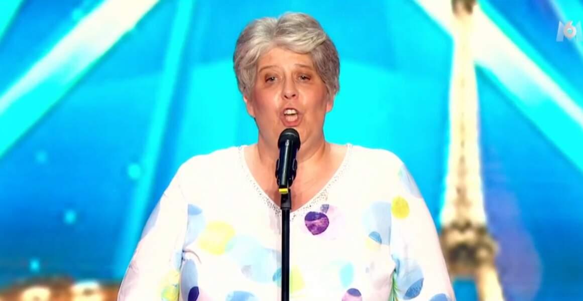 A 52 ans, Corinne a subjugué le jury avec son incroyable voix...