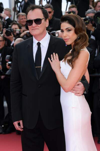Quentin Tarantino, la star de la soirée, et sa femme Daniella Pick