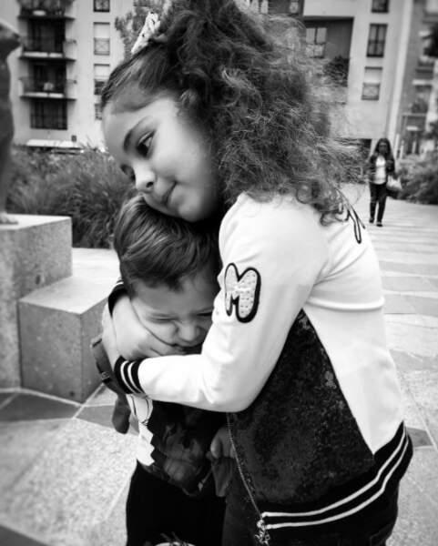 Emilie Nef Naf (Secret Story) a aussi dit au revoir à son fils Menzo