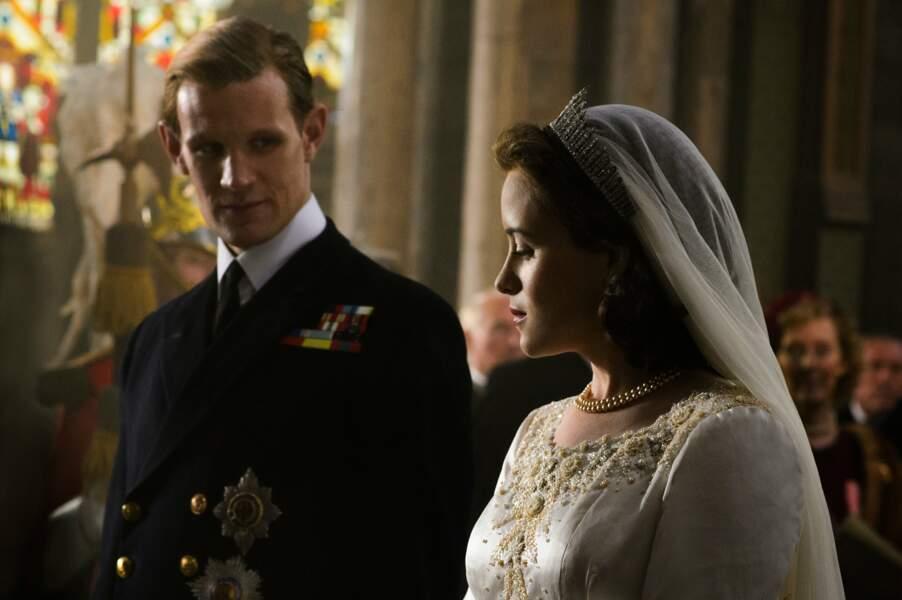 La première saison de The Crown démarre sur ce mariage