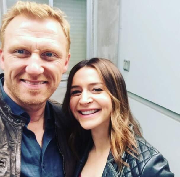 Premier selfie à deux de la saison 14 pour ces deux héros de Grey's Anatomy