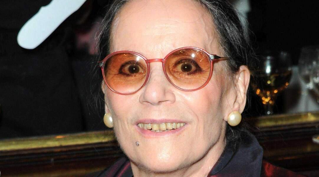 Claudine Auger, âgée de 69 ans en 2010, dans une soirée de gala parisienne.