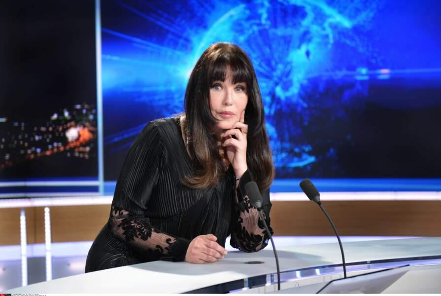 Invitée du journal de TF1 en 2014