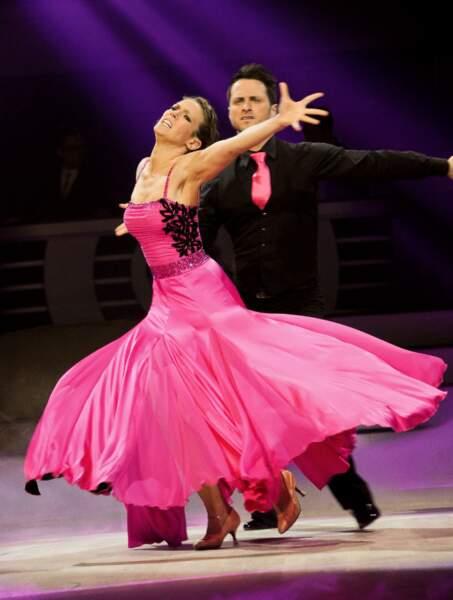 Lorie et Christian Millette à la première de la tournée Danse avec les stars à Bercy
