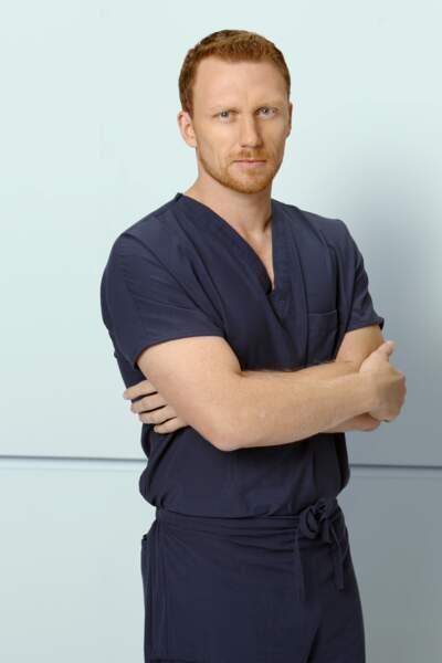 Kevin McKidd débarque dans la saison 5, pour devenir Owen, chef des urgences.