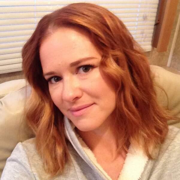 Là Sarah Drew (April) n'était pas encore passée par la case maquillage