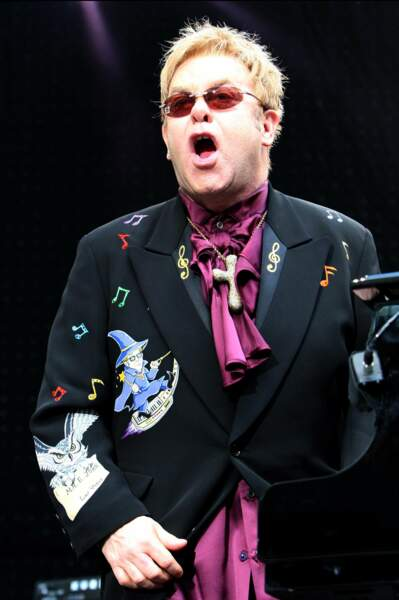 En concert en juillet 2008 au Gerry Weber stadion à Halle, en Allemagne