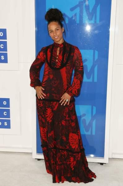 Alicia Keys, jolie même sans maquillage