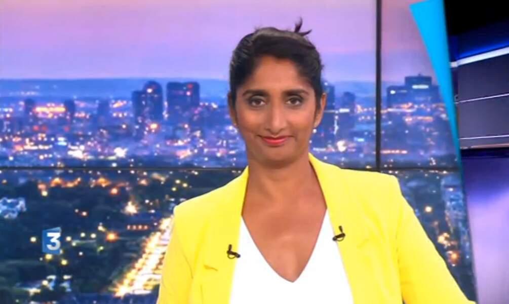 Waouh, flashy la veste jaune de Patricia Loison