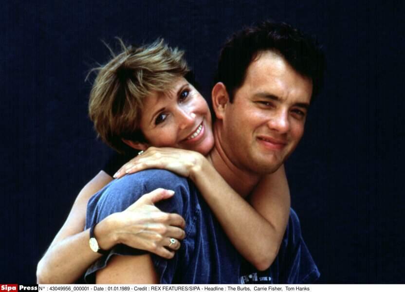 Au côté de Tom Hanks dans la comédie Les Banlieusards (1989)