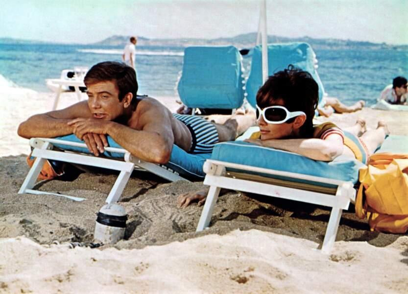 """La relation fut """"étroite"""" avec Albert Finney pour """"Voyage à deux"""" (1967)"""