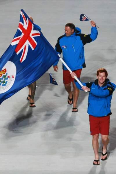 Les athlètes des Iles Caiman se sont légèrement trompés de Jeux Olympiques... Très légèrement.