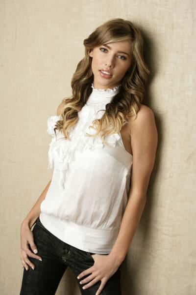 Jacqueline MacInnes en 2008 prête à jouer le personnage de Steffy Forrester