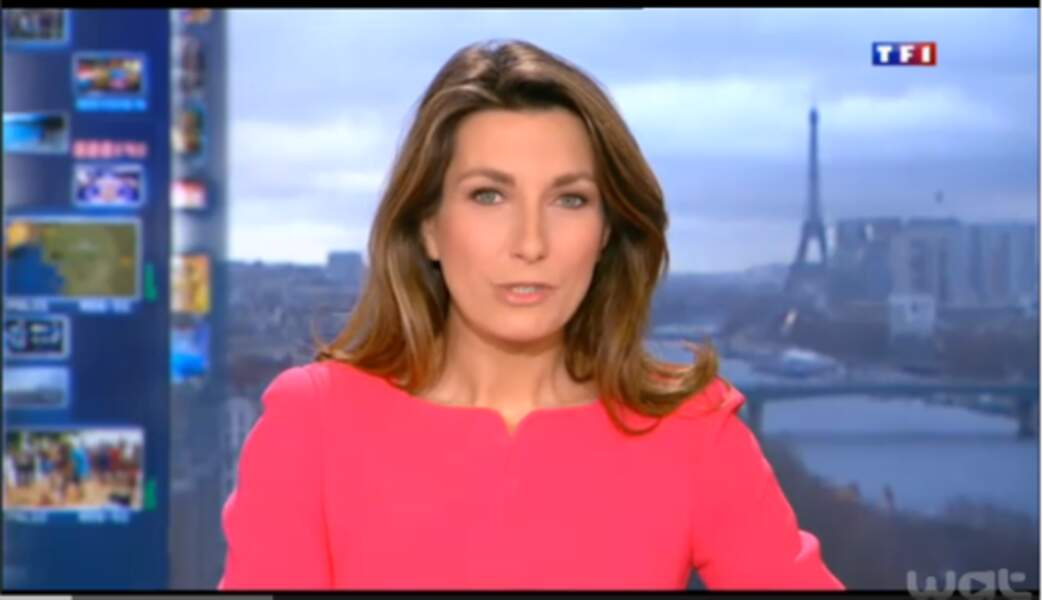 Anne-Claire Coudray aime les couleurs qui pètent : ici en rose !