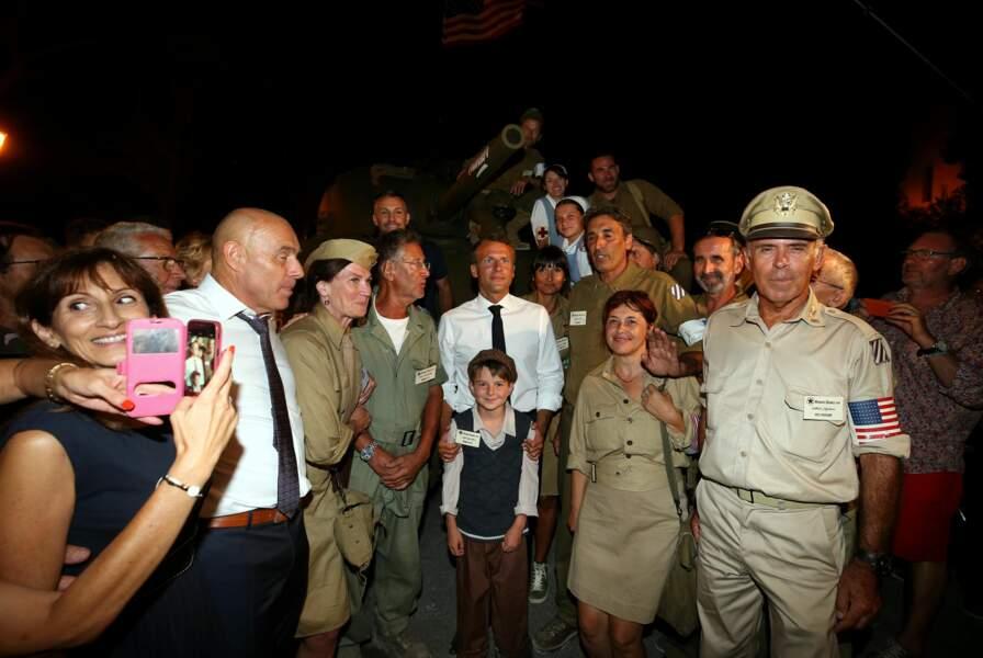 Cette soirée clôturait le 75e anniversaire de la Libération de la ville, lors du débarquement de Provence