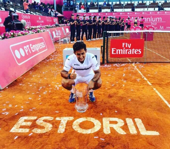 En attendant, Nicolas Almagro a remporté le tournoi d'Estoril