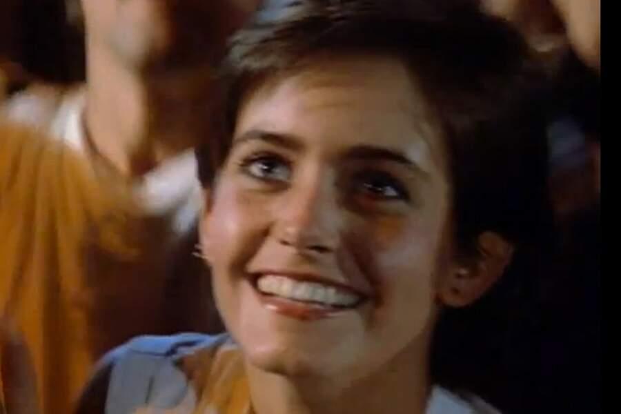 La voici dans le clip de Dancing in the dark de Bruce Springsteen, sorti en 1984