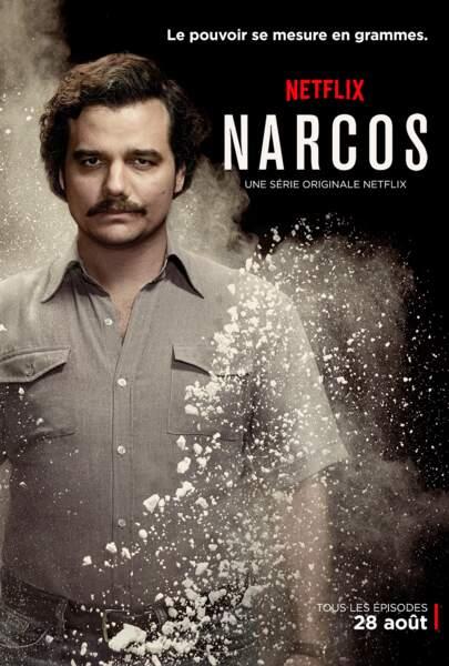 Quand le célèbre baron de la drogue Pablo Escobar inspire Netflix, ça donne l'excellente nouvelle série : Narcos