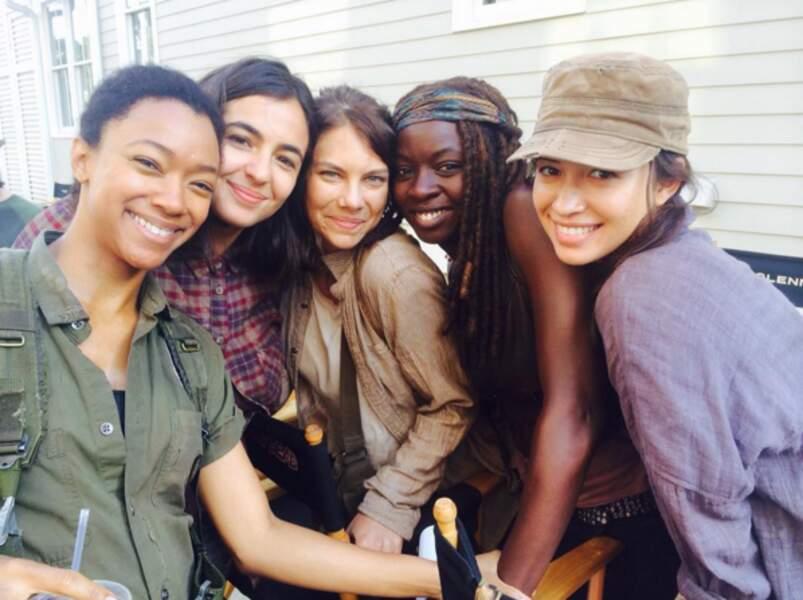 Les filles version Walking Dead.