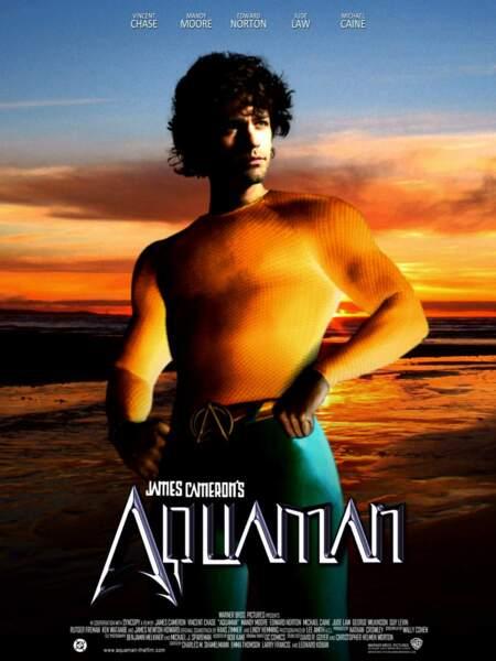 Aquaman comme vous ne l'avez jamais vu, alors qu'il s'agit du meilleur rôle de Vince Chase dans Entourage